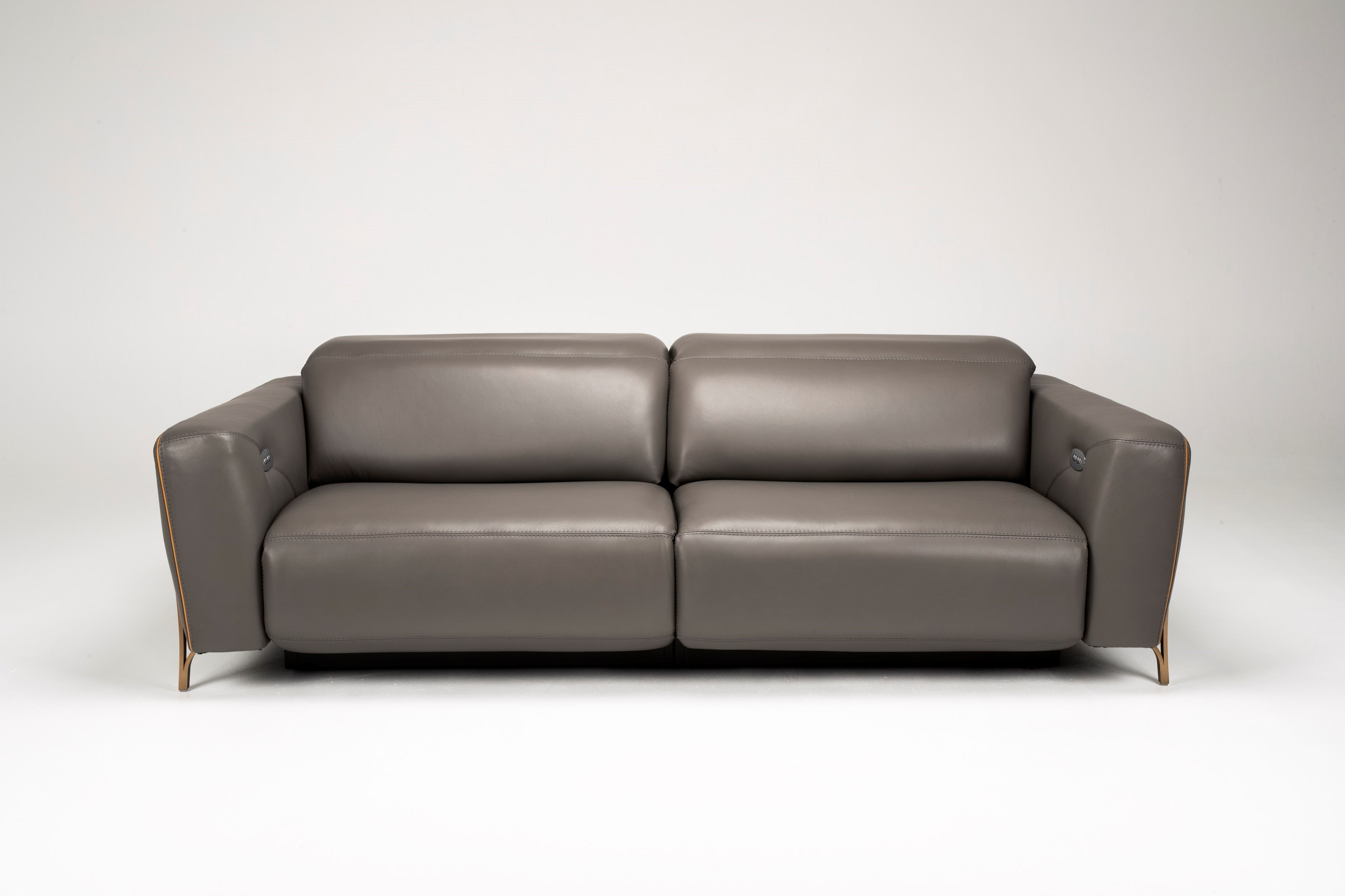 American Leather Turin Contemporary Modular Power Reclining