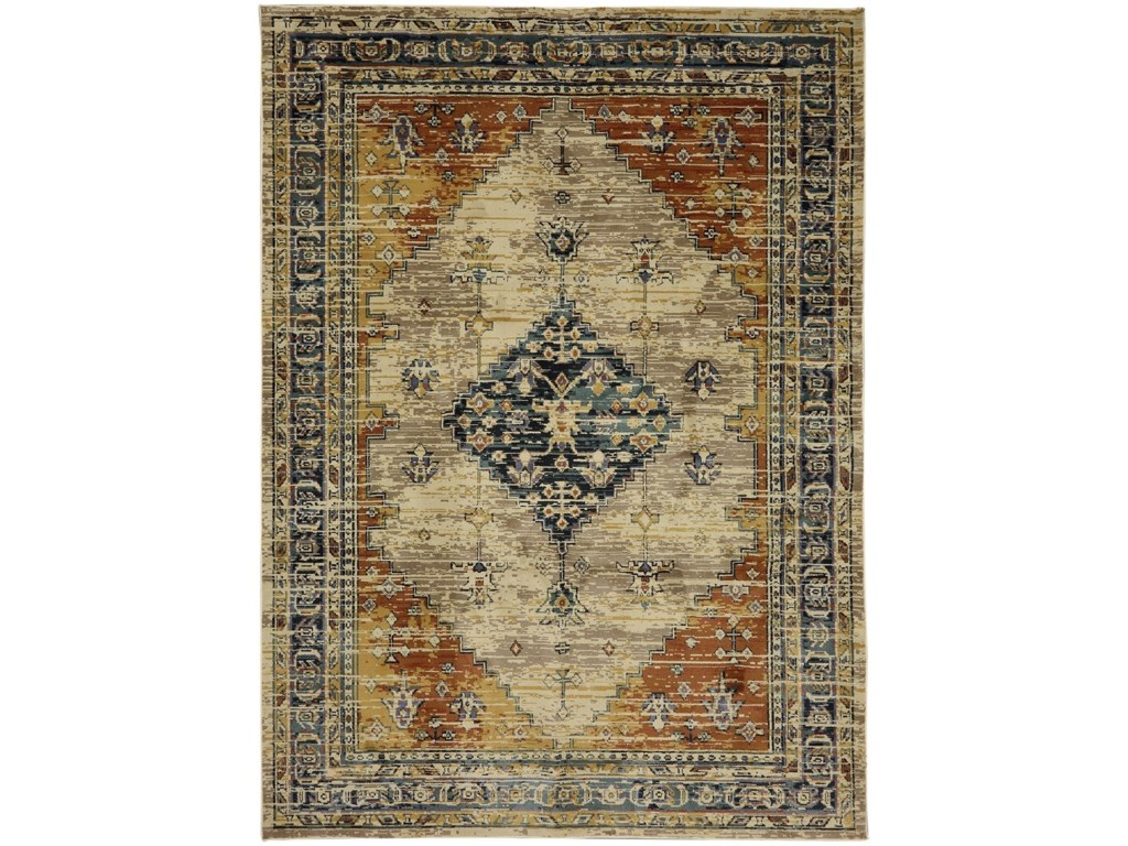 American Rug Craftsmen Providence8'x11' Parlin Marigold Area Rug
