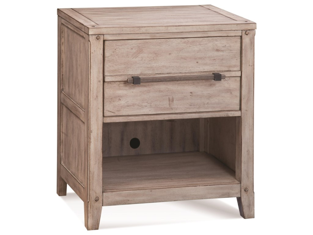 American Woodcrafters Aurora1-Drawer Nightstand