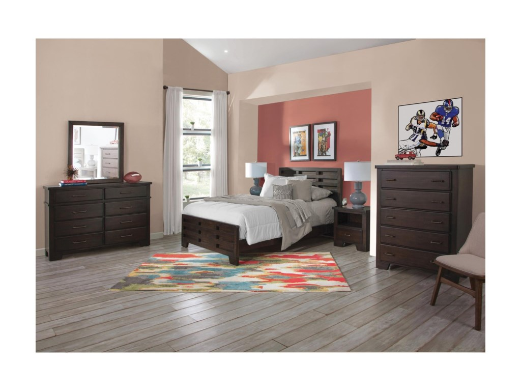American Woodcrafters BillingsTwin Bedroom Group
