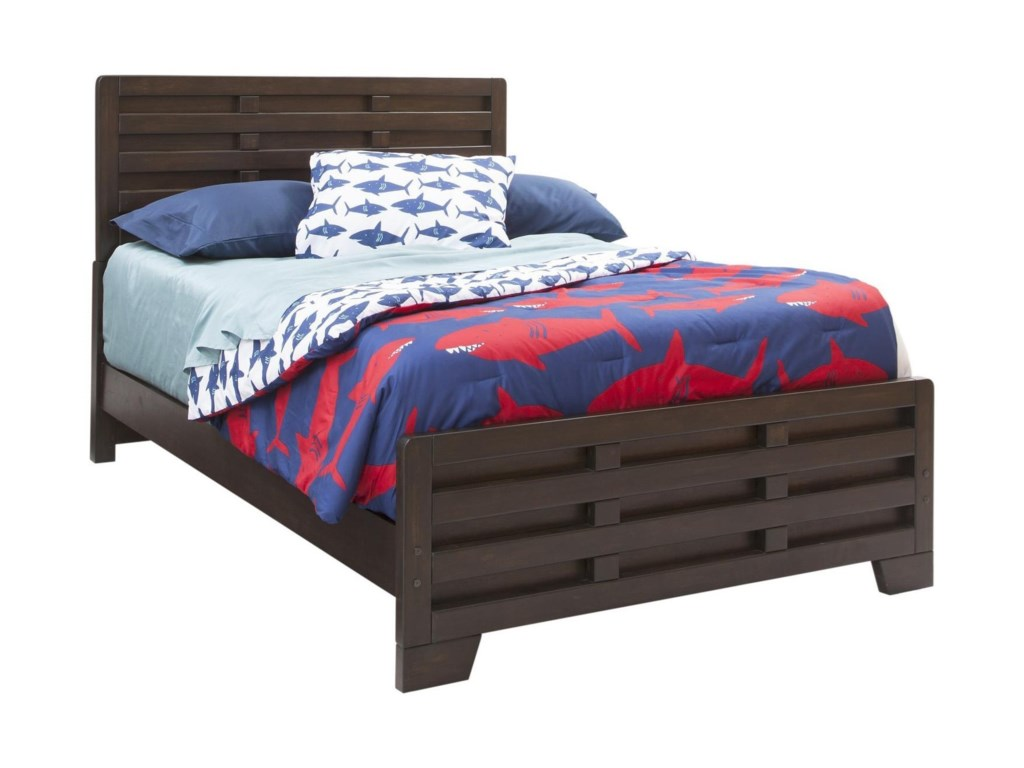 American Woodcrafters BillingsFull Panel Bed