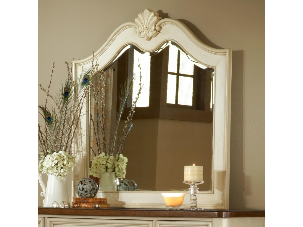 American Woodcrafters ChateauLandscape Mirror