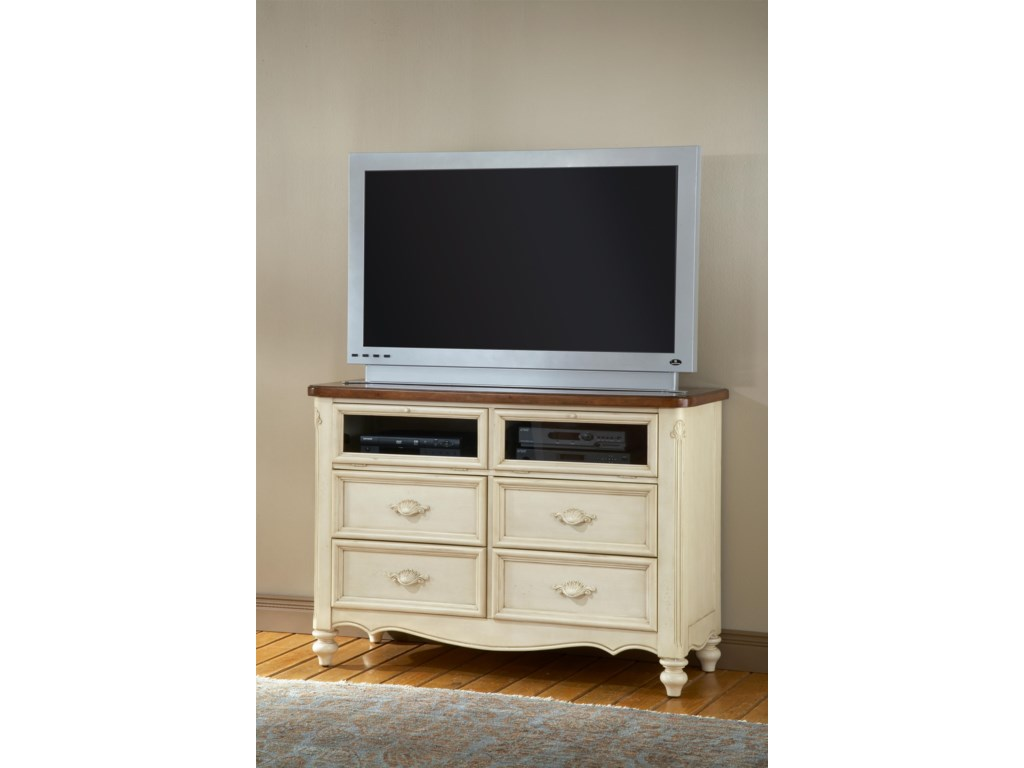 American Woodcrafters ChateauEntertainment Center