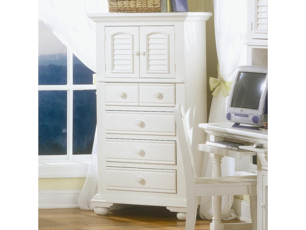 American Woodcrafters Cottage TraditionsYouth Lingerie Chest of 4 Drawers