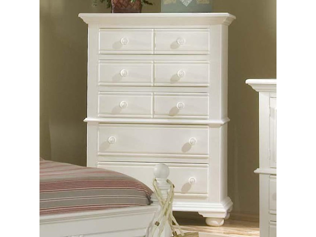 American Woodcrafters Cottage Traditions5 Drawer Chest