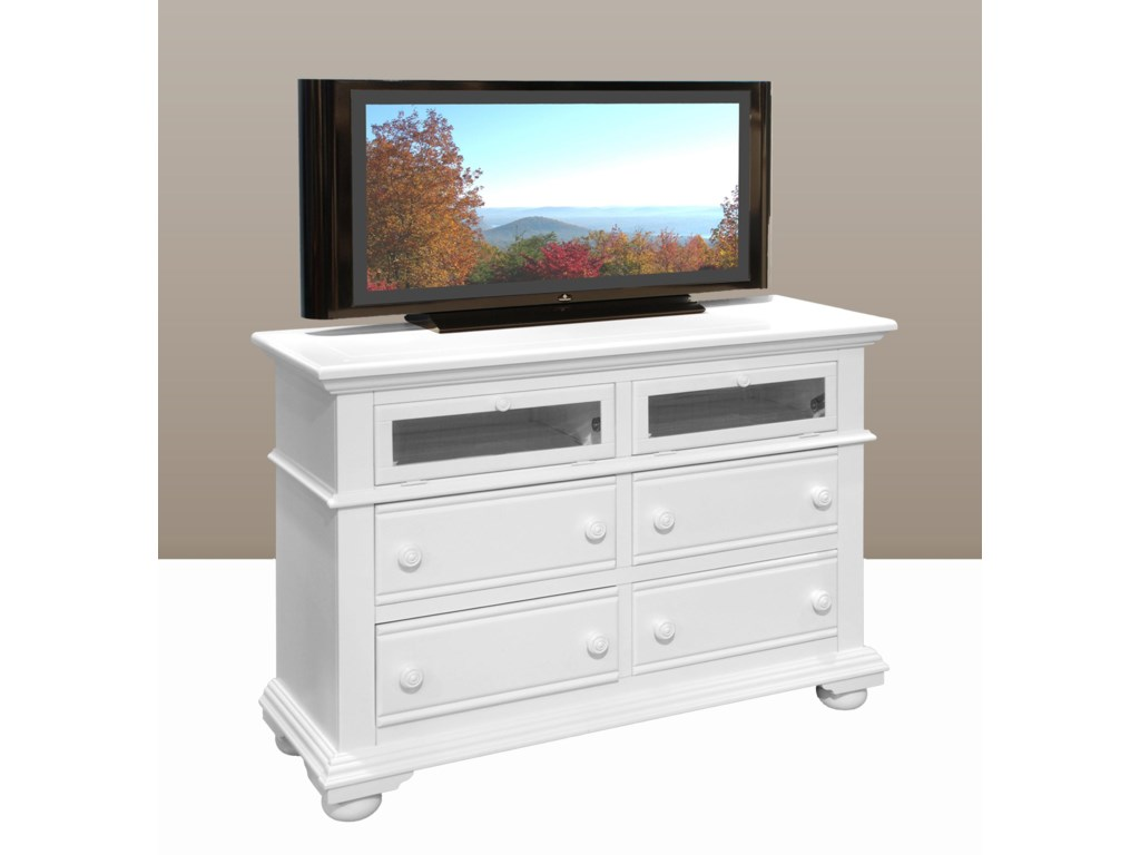 American Woodcrafters Cottage TraditionsEntertainment Dresser