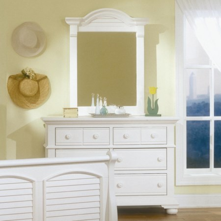 Youth Double Dresser and Mirror Set