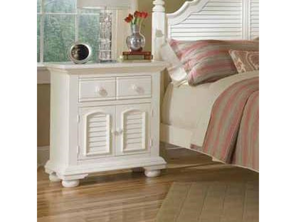 American Woodcrafters Cottage TraditionsNight Stand