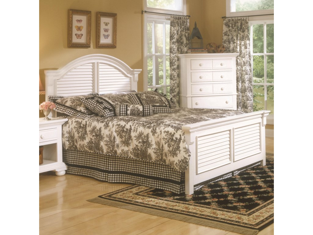 American Woodcrafters Cottage TraditionsFull Panel Bed