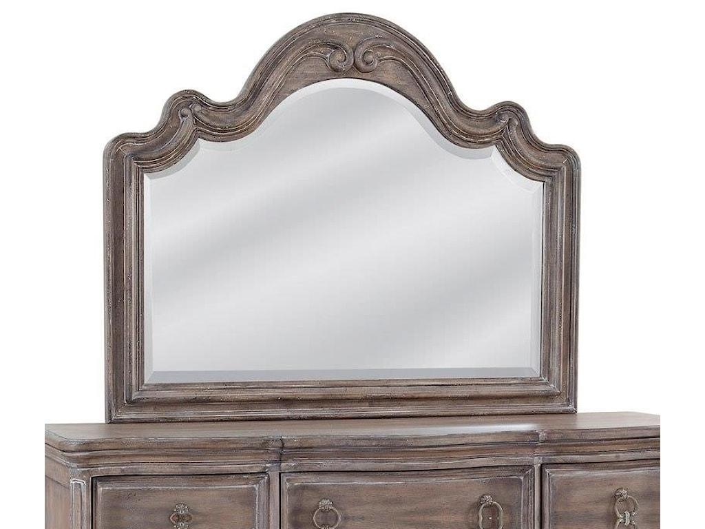 American Woodcrafters GenoaLandscape Mirror
