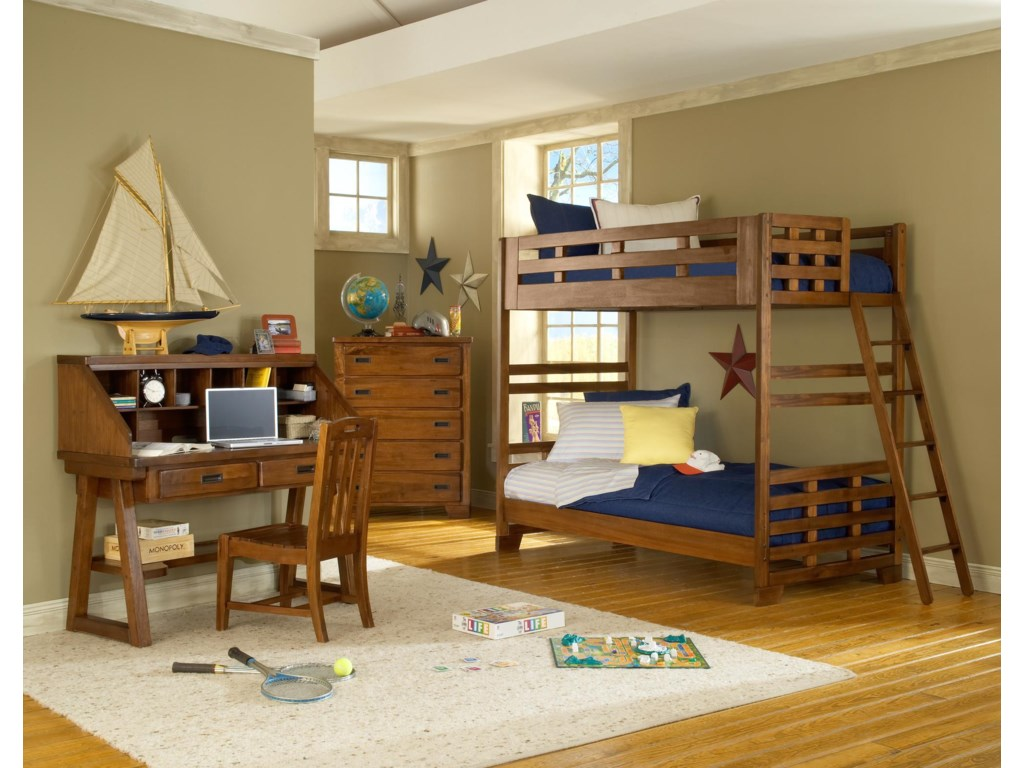 American Woodcrafters Heartland Bunk End