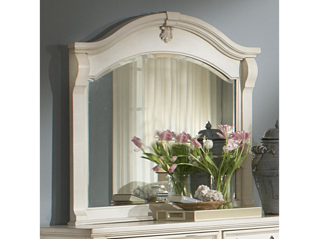 American Woodcrafters HeirloomLandscape Mirror