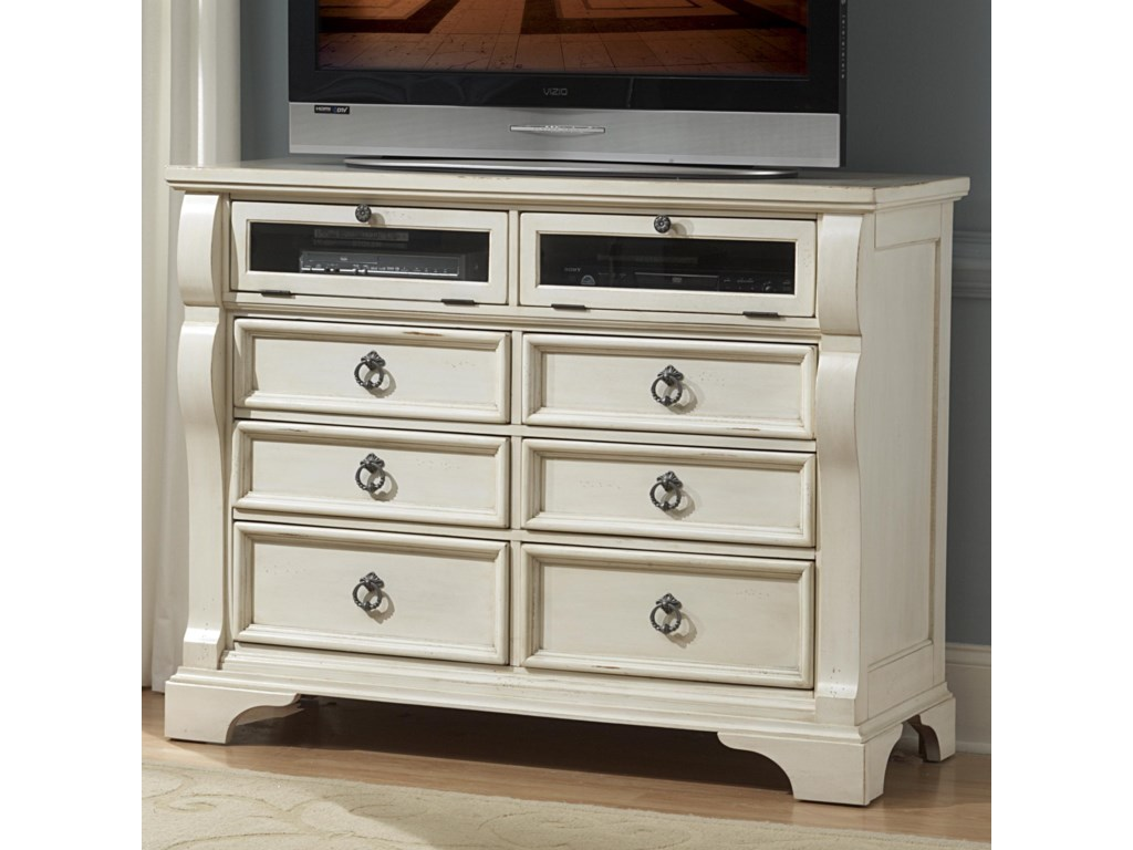 American Woodcrafters HeirloomEntertainment Chest