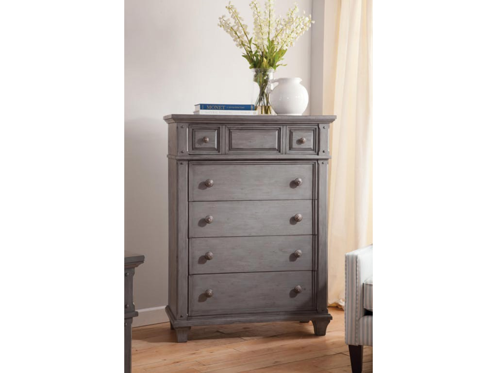 American Woodcrafters Sedona GreyChest