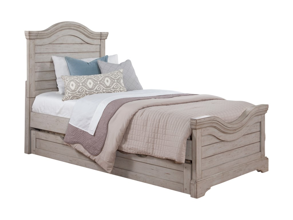 American Woodcrafters Stonebrook YouthTwin Panel Bed