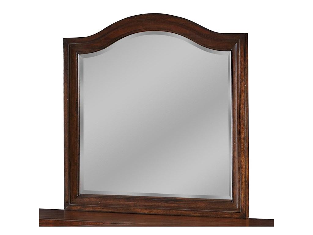 American Woodcrafters StonebrookLandscape Mirror