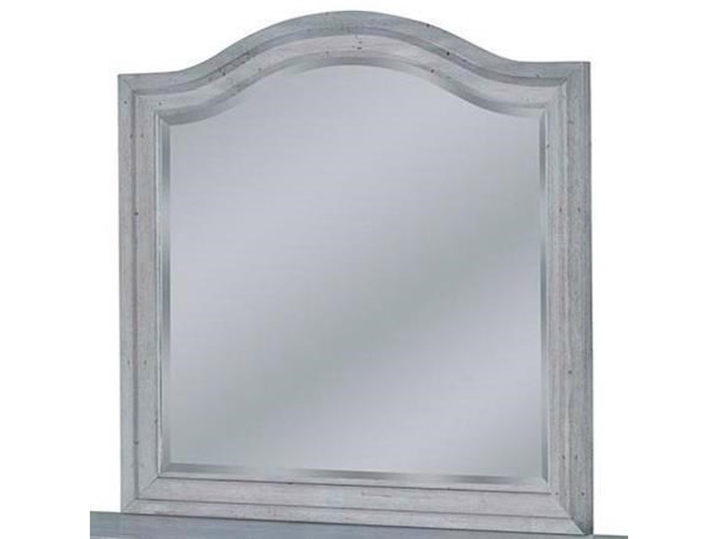 American Woodcrafters StonebrookLandscape Mirror
