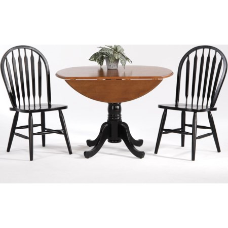 Drop Leaf Table w/ Side Chairs