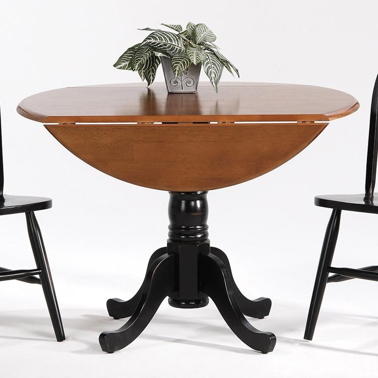 Amesbury Chair Creations IIDrop Leaf Pedestal Table ...