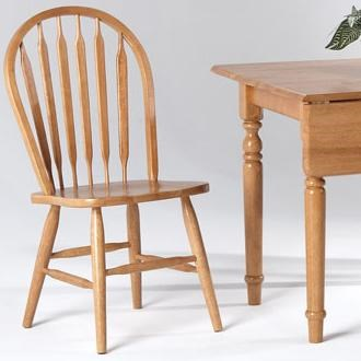 Amesbury Chair Farmhouse And Traditional Windsorarrow Back Side
