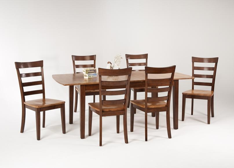 7 piece dining table rectangular amesbury chair newbury and kensington contemporary dining sets piece table set