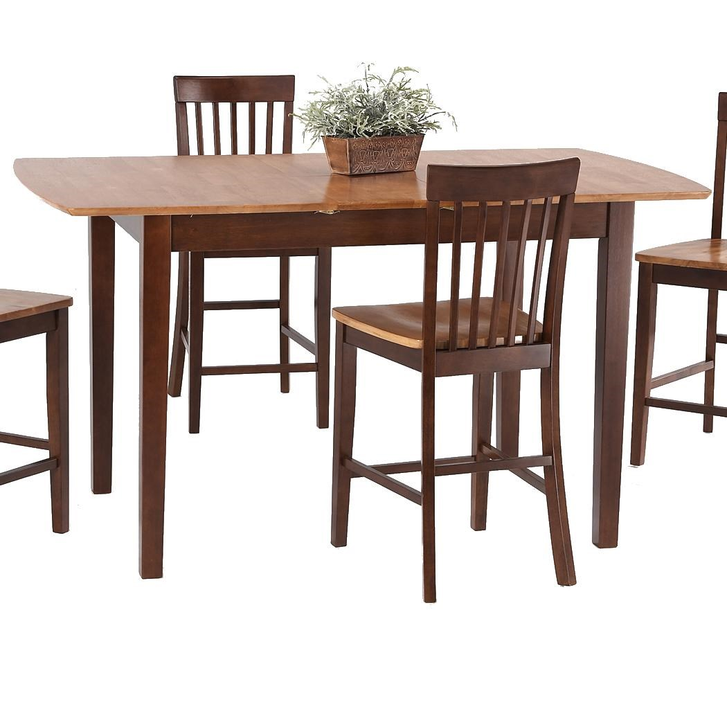 Amesbury Chair Pub SetsButterfly Leaf Pub Table ...