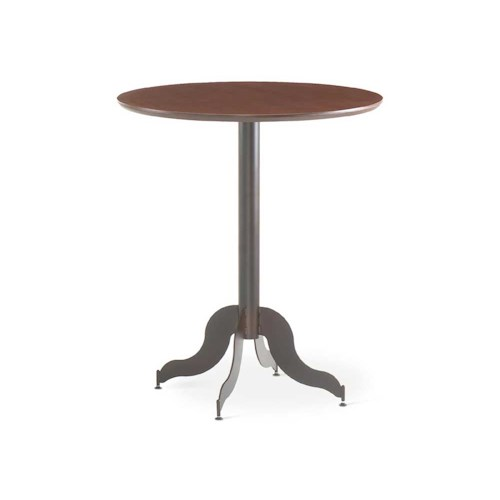 Amisco Transitions Tina Pub Table Base and Maple Veneer Tabletop