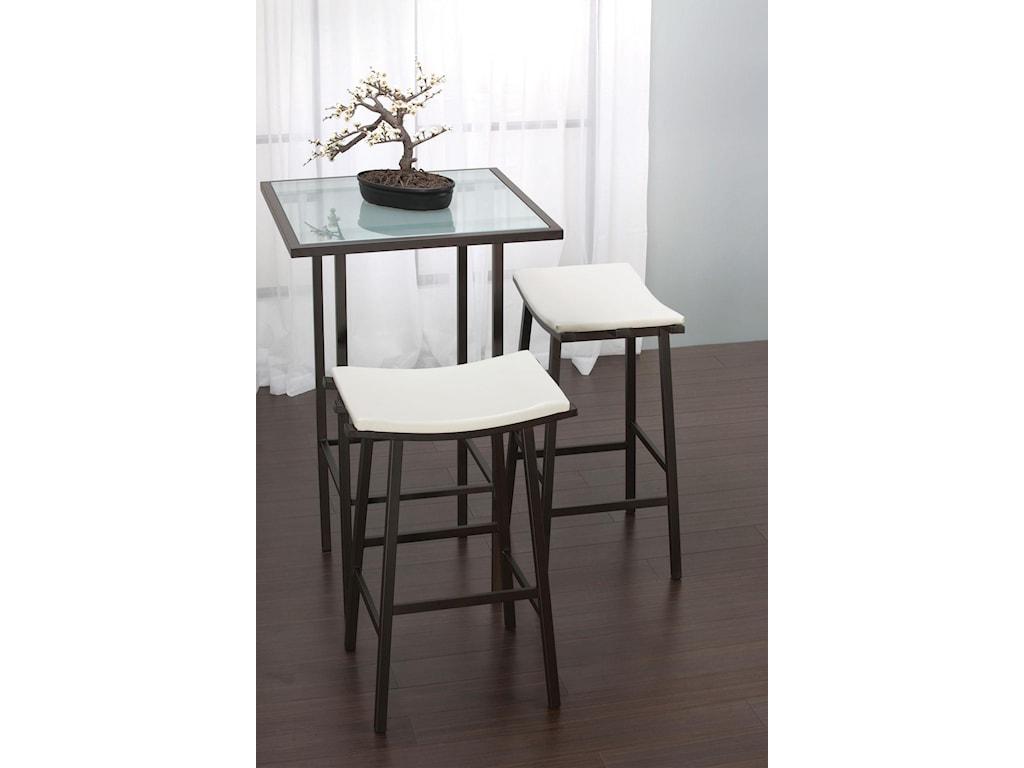 Amisco Aden DinetteAden Counter Height Table
