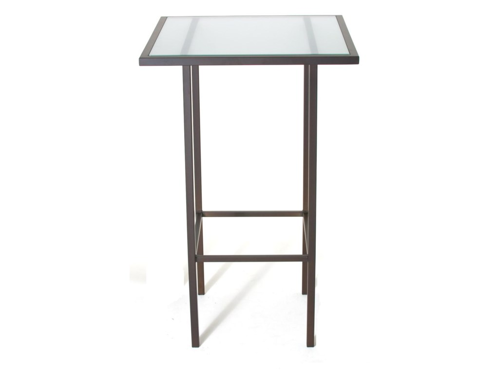 Amisco Aden DinetteContemporary Bar Height Table and Stools