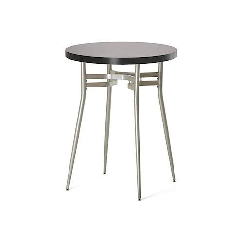 Amisco Anais Contemporary Round Counter Height Table