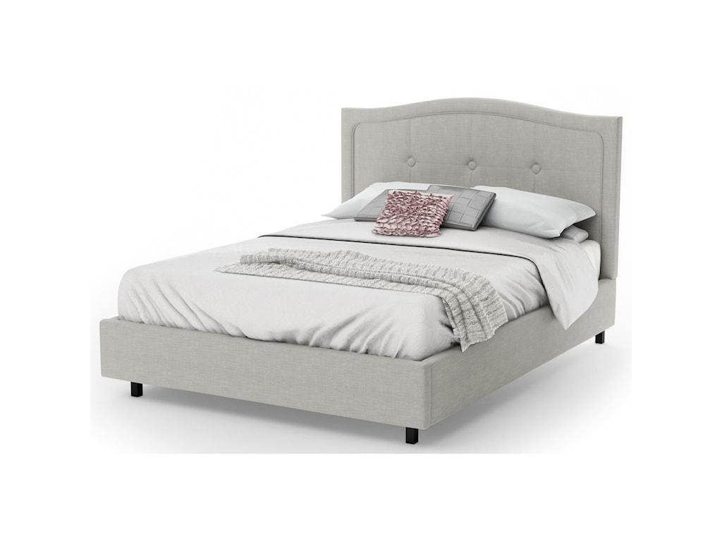 Amisco BoudoirKing Crocus Upholstered Bed