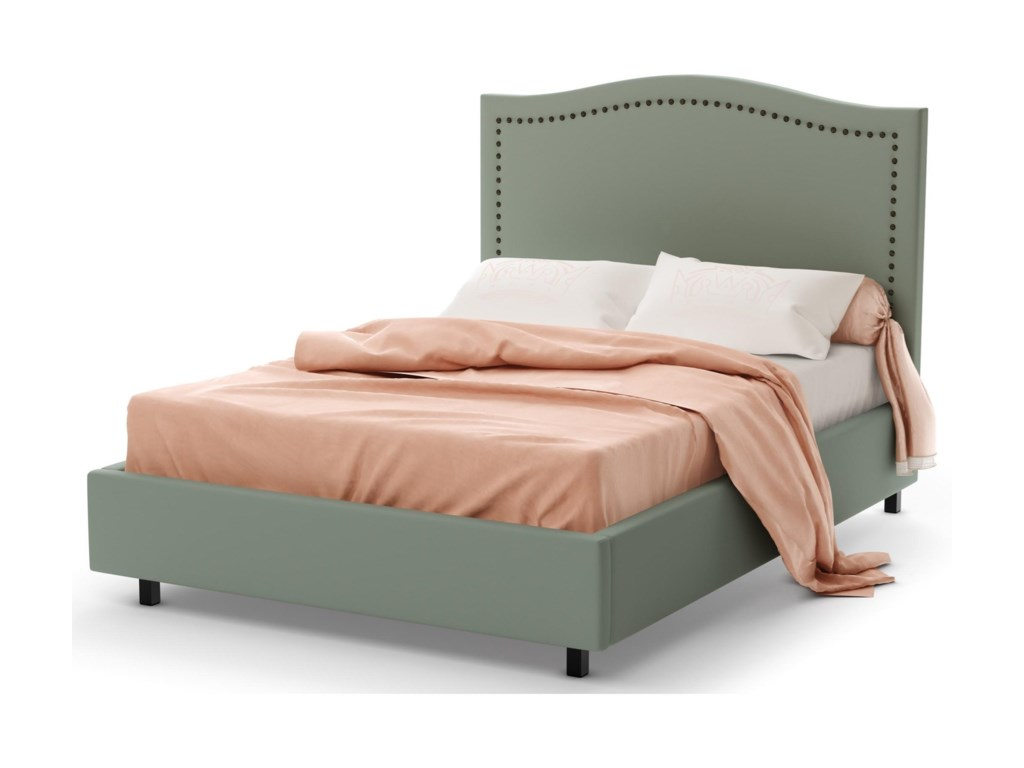 Amisco BoudoirFull Elegance Storage Upholstered Bed