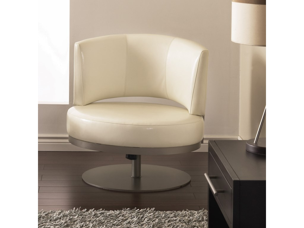 Amisco BoudoirSingapore Swivel Accent Chair