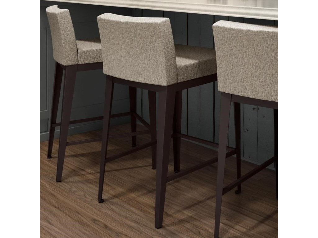 Amisco BoudoirCounter Height Ethan Stool