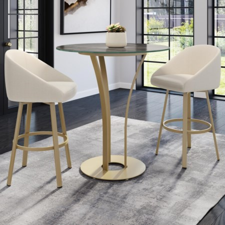 3-Piece Dalia Bar Table Set