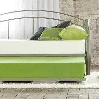 Amisco Clay Clay Twin Contemporary Trundle Bed