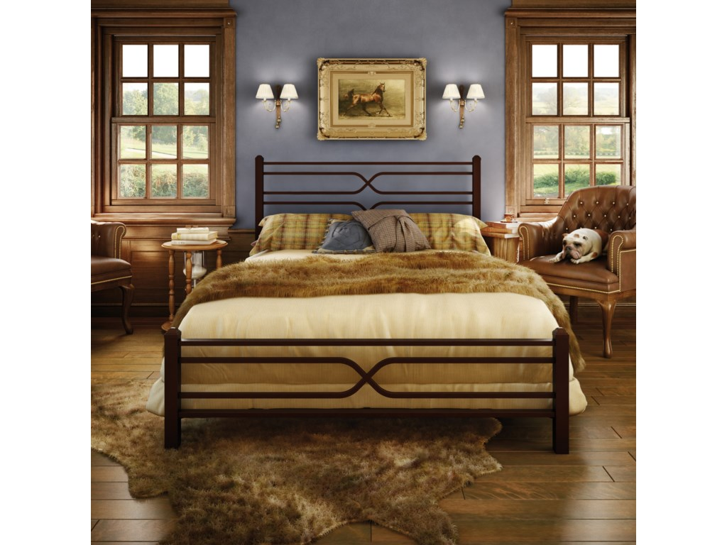 Amisco CountrysideFull Timeless Regular Footboard Bed