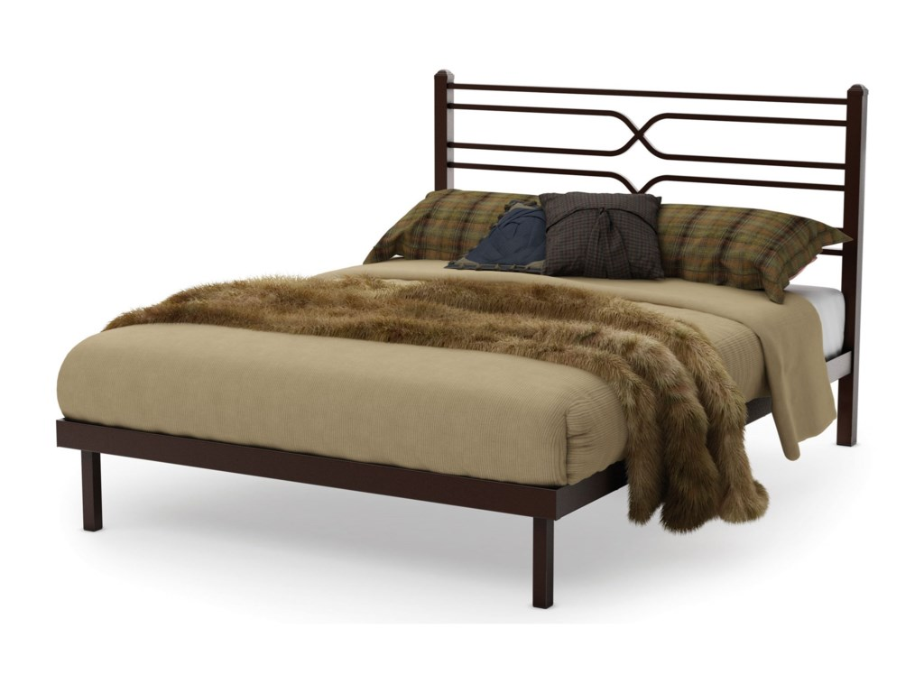 Amisco CountrysideQueen Timeless Platform Footboard Bed