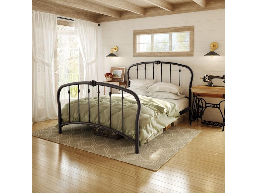 Amisco CountrysideFull Vanna Regular Footboard Bed