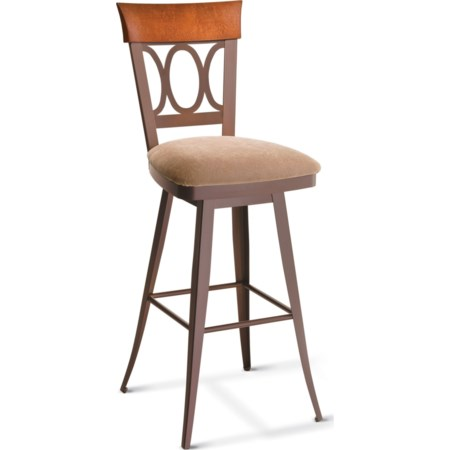 "26"" Cindy Swivel Counter Stool"