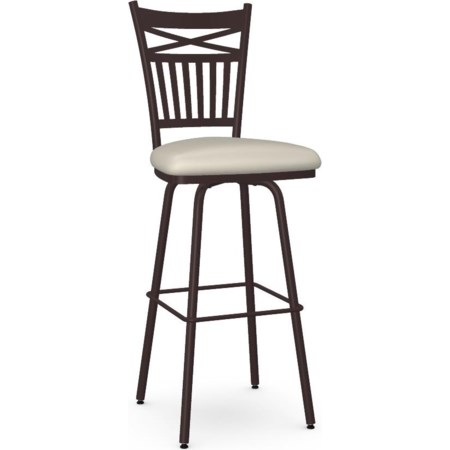 Customizable Garden Swivel Bar Stool