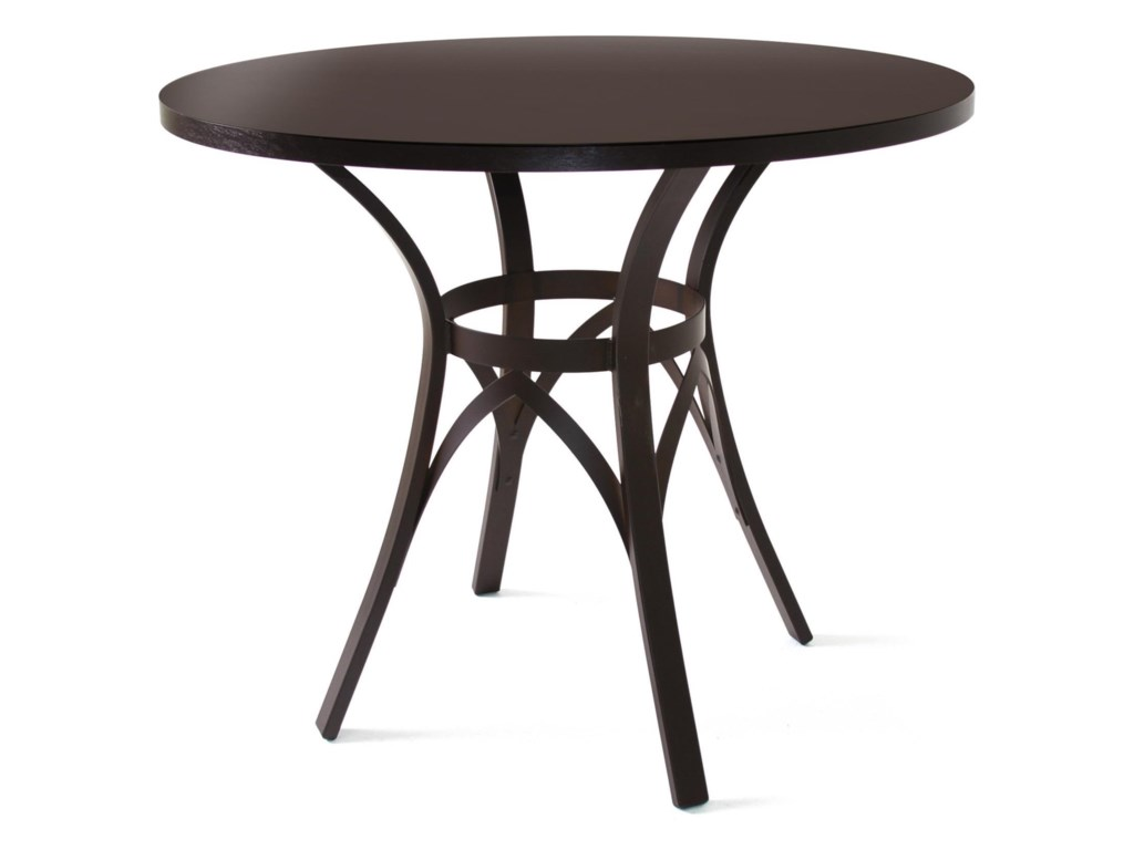 Amisco CountrysideKai Table with Wood Top