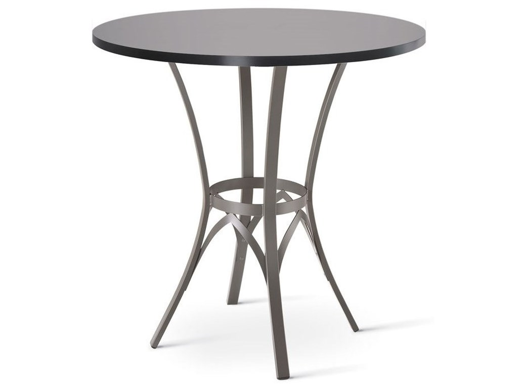 Amisco CountrysideKai Counter Table with Wood Top