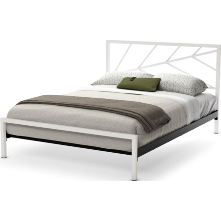 Queen Folium Regular Footboard Bed