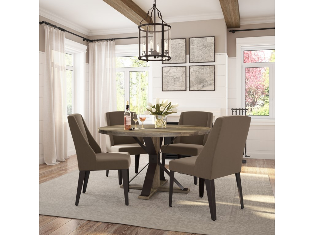 Amisco Farmhouse5-Piece Martina Table Set