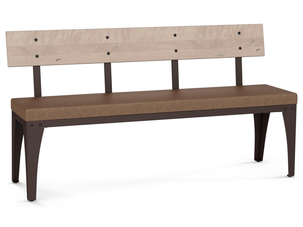 Amisco IndustrialArchitect Bench with Cushion Seat