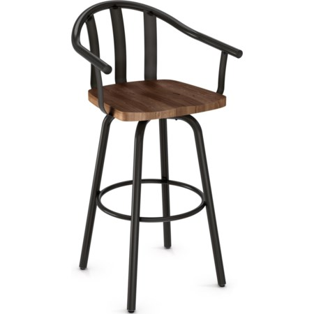 "26"" Gatlin Swivel Counter Stool"