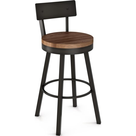 "26"" Lauren Swivel Stool"