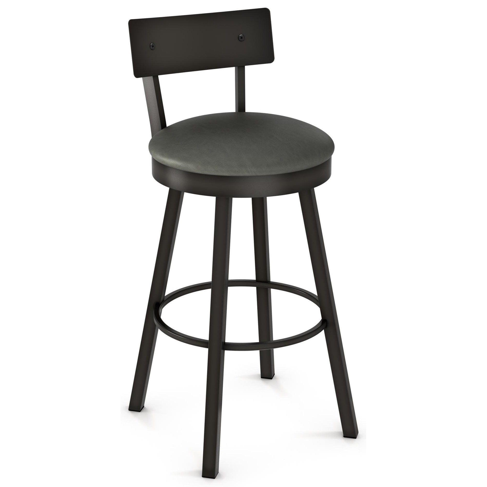"""26"""" Lauren Swivel Counter Stool with Cushioned Seat"""