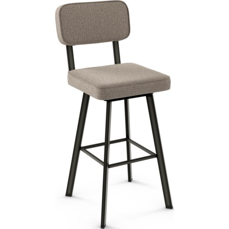 Brixton Swivel Stool, Bar Height